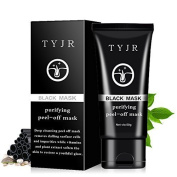 Blackhead Remover Black Mask Cleaner Purifying Deep Cleansing Blackhead Black Mud Face Mask Peel-off 50ml