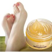 Kinghard 24K Gold Essence Foot Cream Exfoliating Dead Skin Removal Foot Massage Cream