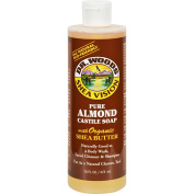 Dr. Woods Shea Vision Pure Almond Castile Soap with Organic Shea Butter - 470ml