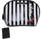 Victoria's Secret Cosmetic Make Up Bag Beauty Travel Pouch, Organiser New York Exclusive Striped