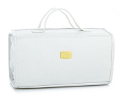 JOY Genuine Leather Large Better Beauty Case ~ White