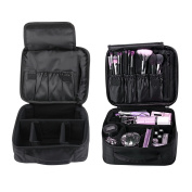 Imcolorful Makeup Cosmetic Bag Train Travel Case Waterproof