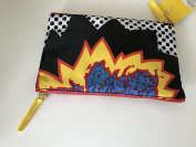 Sonia Kashuk Two-Zip Purse Kit Makeup Bag - Shazam Print