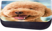 Happy Poodle Jacks Outlet TM Nylon-Lined Cosmetic Case