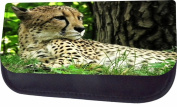 Cheetah Jacks Outlet TM Nylon-Lined Cosmetic Case