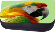 Parrot Jacks Outlet TM Nylon-Lined Cosmetic Case