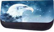 Whimsical Eagle Jacks Outlet TM Nylon-Lined Cosmetic Case