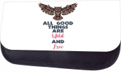Wild And Free- Ethnic Owl Jacks Outlet TM Nylon-Lined Cosmetic Case