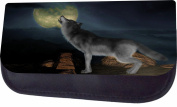 Howling Wolf Jacks Outlet TM Nylon-Lined Cosmetic Case