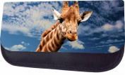 Giraffe In The Sky Jacks Outlet TM Nylon-Lined Cosmetic Case