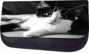Surprised Kitty Jacks Outlet TM Nylon-Lined Cosmetic Case