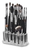 byAlegory Acrylic Makeup Brush Organiser | 26 Spaces