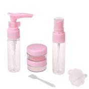 Kinghard 6pcs Set Empty Tubes Cosmetic Cream Travel Lotion Containters Packing Empty Bott