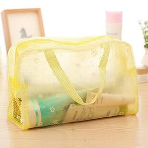 dc5f5ddd9f15 Garrelett Toiletry Bags Totes - Portable Zipper Travel Flower ...