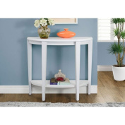 Hawthorne Ave White 90cm Accent Table