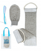 Bãno Natutal Scrubber Bath Set Plus Feet Care