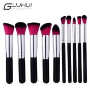 Cosmetic Brush,YJM 10PCS Make Up Foundation Eyebrow Eyeliner Blush Cosmetic Concealer Brushes