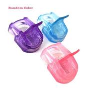 Garrelett 2 Pcs Eyelash Curlers - Professional Plastic Makeup Eyelash Clip Tools with Refill Rubber Pads for Curling Lashes
