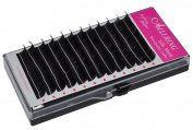 Alluring Silk Mink Lashes for Eyelash Extensions D curl .12mm thickness