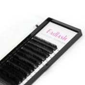 FADLASH False Eyelashes Extension Natural Soft Handmade Volume Individual Lashes D Curl 0.15mm Mixed Length for Salon Use