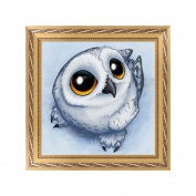 NDJK DIY Cute Owl 5D Diamond Embroidery Painting Cross Stitch Art Craft Home Decor