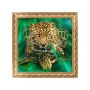 NDJK DIY 5D Diamond Embroidery Leopard Painting Cross Stitch Art Craft Home Decor