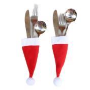 Christmas Gift, Christmas Tableware Decorative Hat
