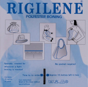 Rigilene White Polyester 12mm Corset Boning By the Yard