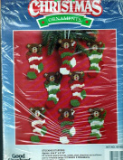 Good Shepherd Needle Craft Kit 95-8021-001991 STOCKING STUFFERS Bears in Stockings Makes 8