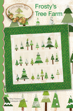 Frosty's Tree Farm Christmas Embroidery Pattern by Meg Hawkey From Crabapple Hill Studio #1120cm - 90cm x 90cm