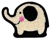 XL Extra Large Cute Chenille Elephant Shirt Patch 13cm - Badge - Patches - Girly - Jacket - Hoodie - Girls - Applique - Style - Fashion - Boys