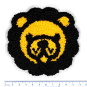 XL Extra Large Cute Chenille Lion Shirt Patch 11.5cm - Badge - Patches - Girly - Jacket - Hoodie - Girls - Applique - Ska - Style - Fashion - Boys