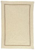 Shear Natural Square Rug, 1.8m x 1.8m, Canvas