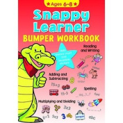 Snappy Learners Bumper Workbook Spelling Adding Phonics Writing Age 6-8