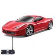Ferrari 458 Italia Rc 1:24 Scale Kids Fun Play Remote Control Plastic Car Toy