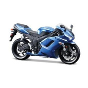 Kawasaki Ninja Zx-6r Diecast 1:12 Scale Kids Creative Model Kit Motorcycle Toy