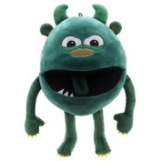 The Puppet Company Baby Monsters Green Monster Hand Puppet
