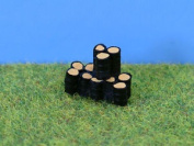 Pdx42 P & D Marsh - N-scale Stack Of Oil Drums