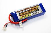 Overlander Supersport 14.8v 4250mah 30c Lipo Stick Pack (no Con.) #0002476