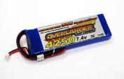 Overlander Supersport 7.4v 4250mah 30c Lipo Stick Pack #0002474