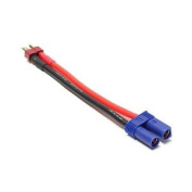 Deans Male To Ec5 Female Connector Adaptor Lead 12 Awg Lead Overlander