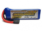 Overlander Supersport 14.8v 6250mah 30c Lipo Stick Pack - Traxxas #0002770trx