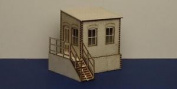 O Gauge (7 Mm) Warehouse Office With Basement - Left Version - Lcc B 70-03l