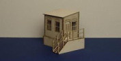 O Gauge (7 Mm) Warehouse Office With Basement - Right Version - Lcc B 70-03r
