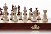 Tournament 3 - Medium 35cm / 13.8in Handcrafted Wooden Chess Set Professional