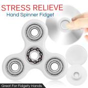 Fidget Finger Spinner Hand Focus Ultimate Spin Aluminium Edc Bearing Stress Toys