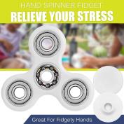 Latest Hand Spinner Fidget Tri-spinner 3d Edc Ceramic & Steel Toy For Kids