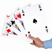 Super Giant A4 Playing Cards