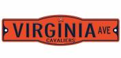 Virginia Cavaliers 10cm x 43cm Street Sign NCAA