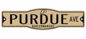 Purdue Boilermakers 10cm x 43cm Street Sign NCAA